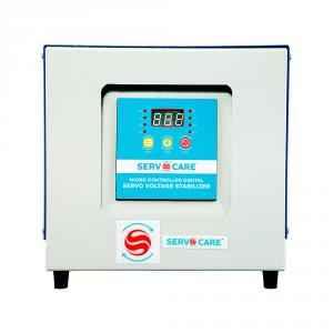 Servocare 10kVA Single Phase Air Cooled Servo Controlled Voltage Stabilizer