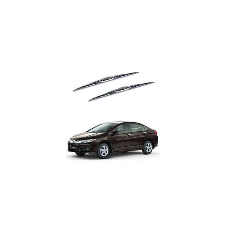 Hella WB-BK-041 Premium Black Wiper Blade Set For Honda City i-DTEC 2014