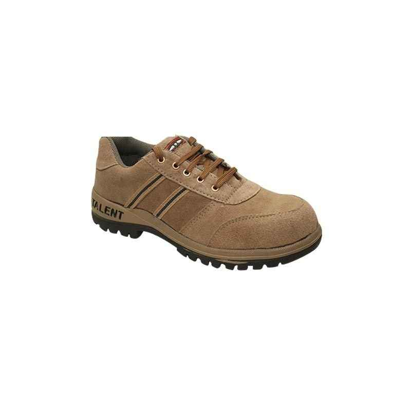 NEOSafe Talent A5007 Steel Toe Brown Safety Shoes, Size: 6