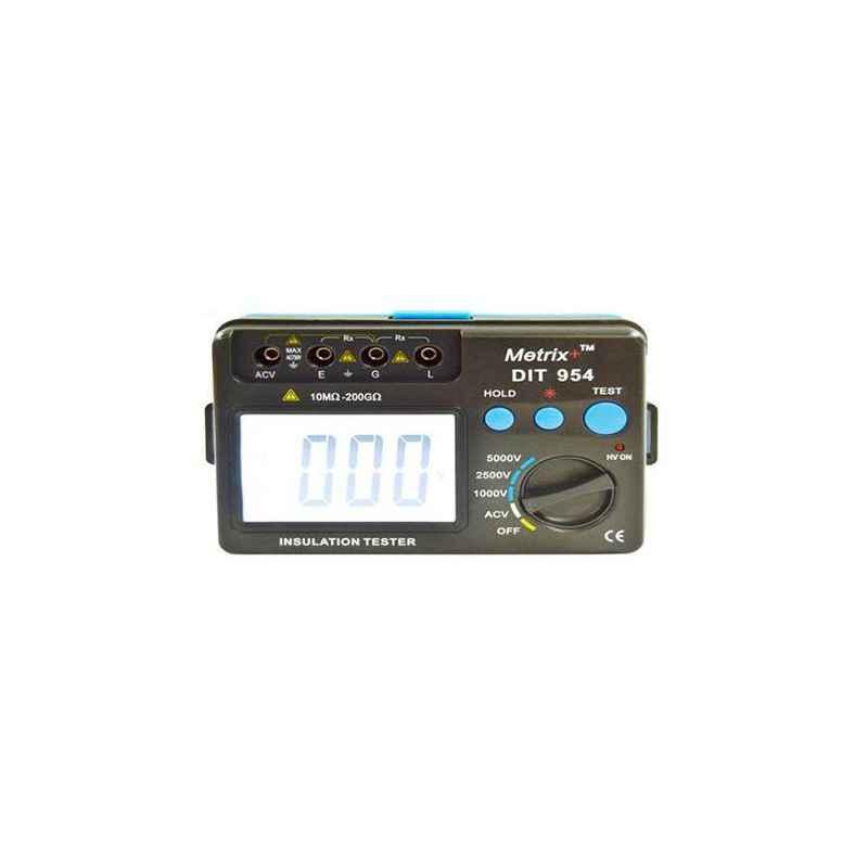 Metrix+ DIT 954 Digital Insulation Tester