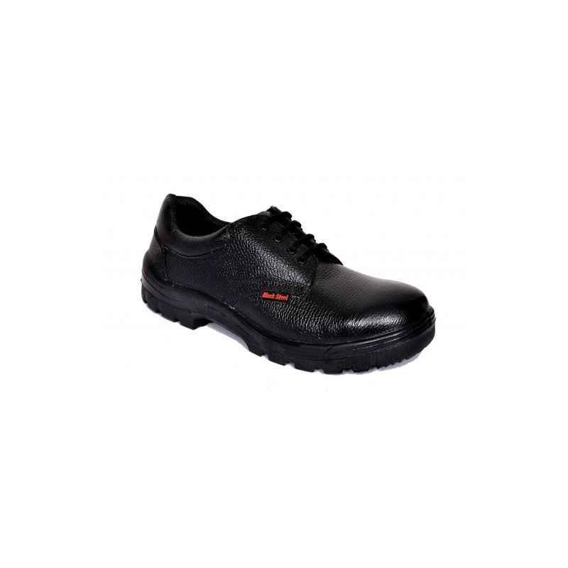 Prosafe BS-9041 Steel Toe Black Safety Shoes, Size: 11