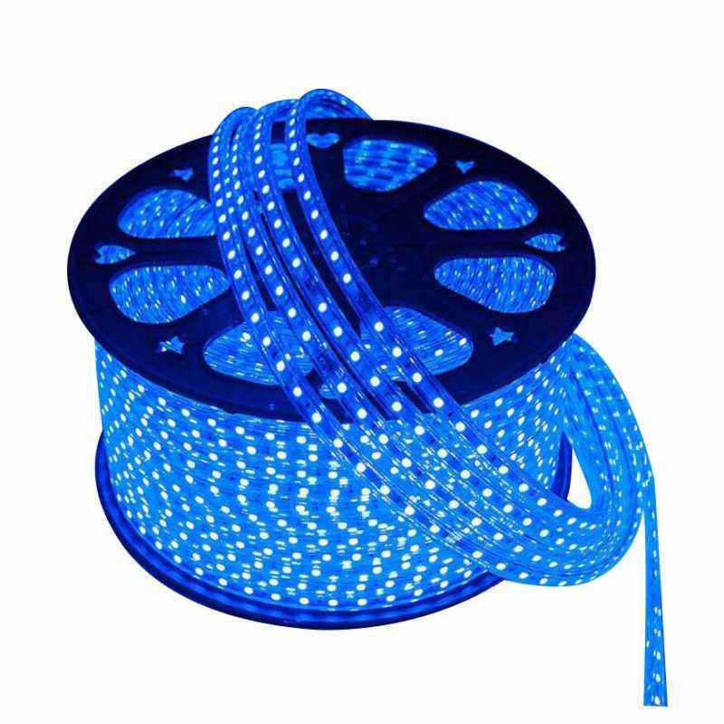 VRCT Classical 19.8m Blue Waterproof SMD Strip Light with Adaptor, Blue SMD 19.8