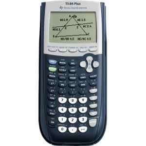 Texas Instruments TI-84 Plus 16 Digit Graphical Calculator