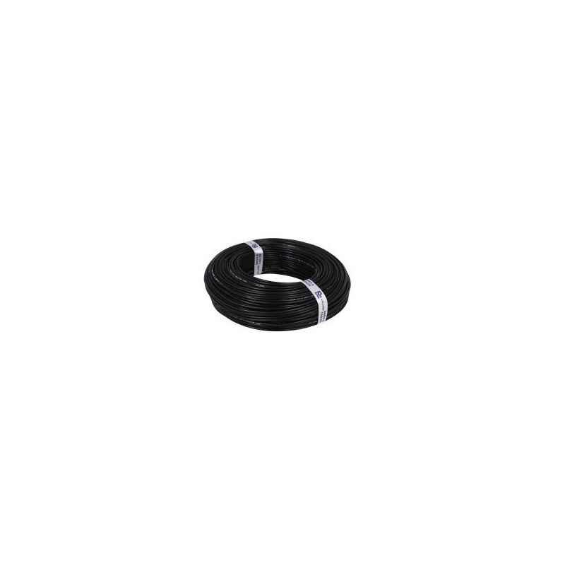 Kalinga 1.0 Sq mm Black FR PVC Housing Wire Length 90 m