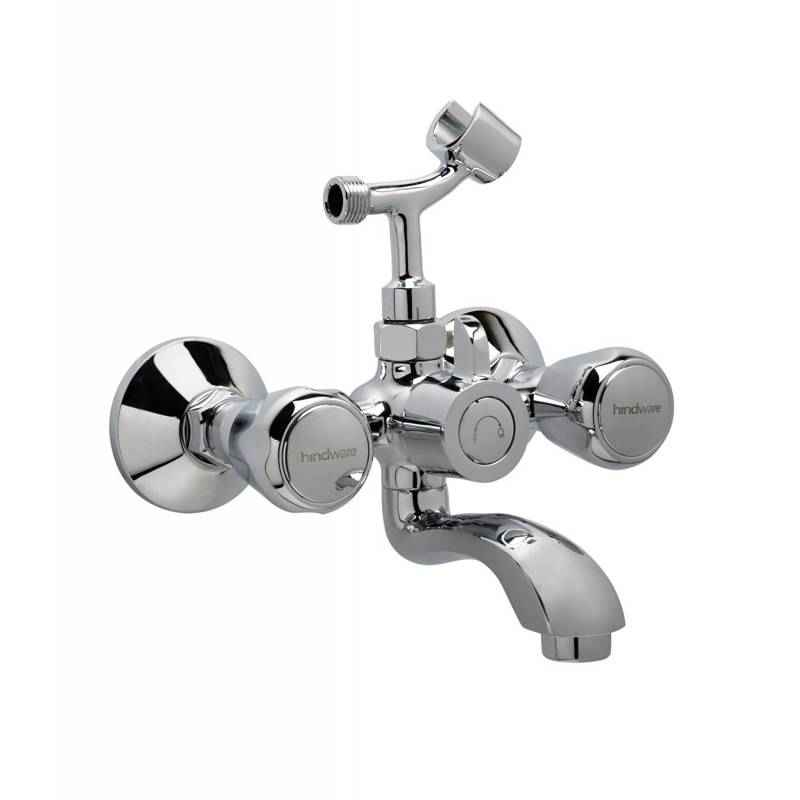 Hindware F100018QT Contessa Wall Mixer with Hand Shower