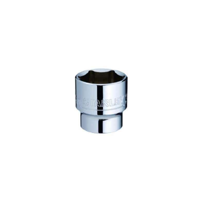 Stanley 3/8 Inch 6 PT Standard Socket, 19mm, STMT72927-8B-12