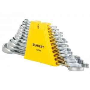 Stanley 12 Pieces CRV Steel Combination Spanner Set, 70-964E