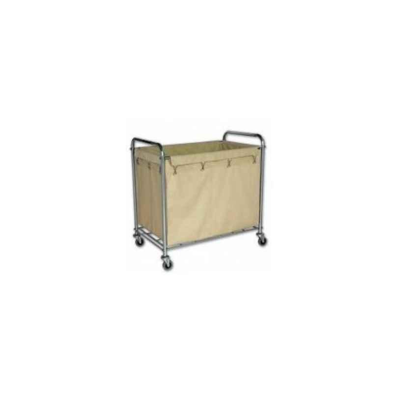 Amsse LT1002 Rectangular Cart Laundry Basket for Laundry