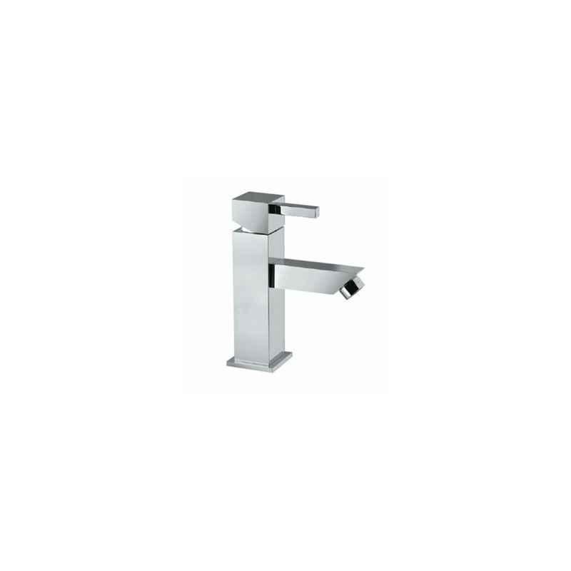 Jaquar KUB-CHR-35025B Kubix-F Basin Mixer (Tall) Bathroom Faucet