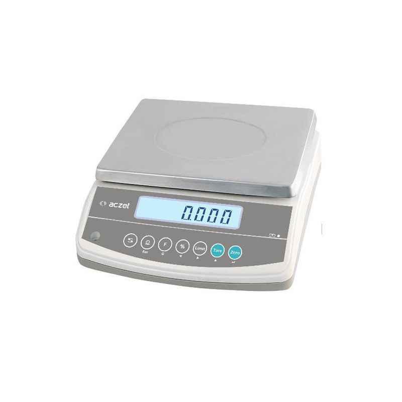 Aczet CG 15001L Precision Balance, Capacity: 15 kg