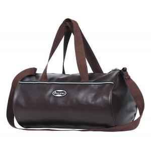 Polestar Brown Leatherette Duffel Bag