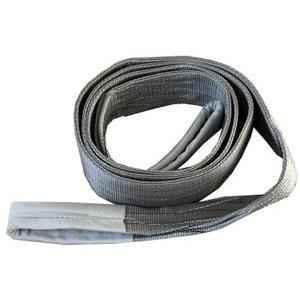 Ferreterro 4 Ton 10m Grey Double Ply Flat Polyester Webbing Sling