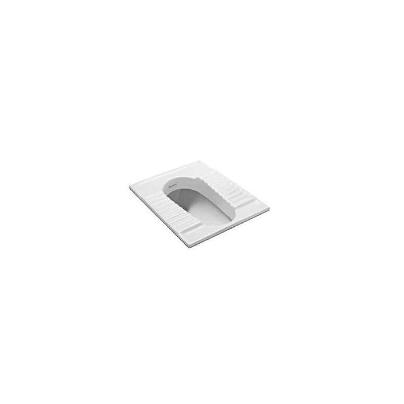 Parryware Thrift Squatting Pan, C0116, Colour: White