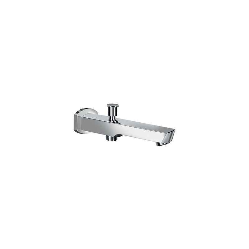 Kerovit Bathtub Spout With Diverter & Flange, 611017-CP