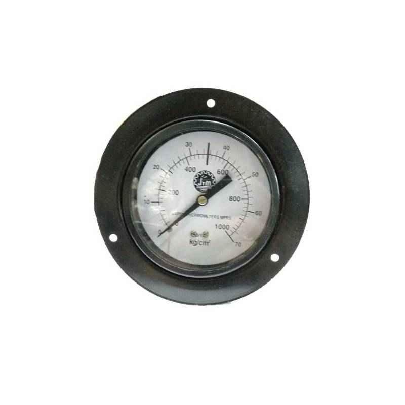 Bellstone 0-30psi Mild Steel Black Pressure Gauge, 77774446