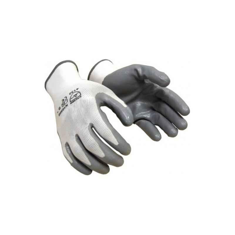 Nitrile Nylon Safety Gloves