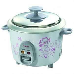 Prestige 350W Electric Rice Cooker, PRWO0.6-2
