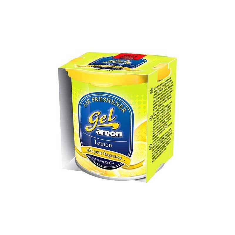 Areon Lemon Car Perfume Gel Air Freshener