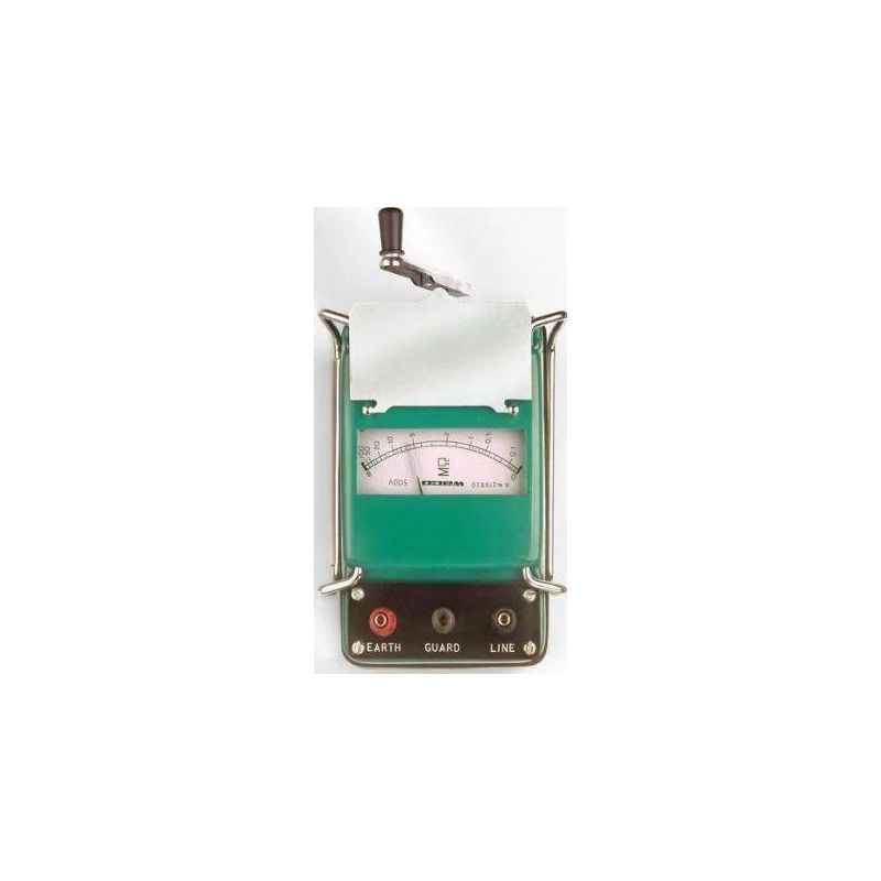 Waco 20 MΩ Hand Driven Analog Insulation Testers, WI 102