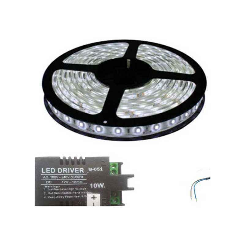 VRCT 3W White Decorative Wall LED Strip Light with Adaptor, DL-584