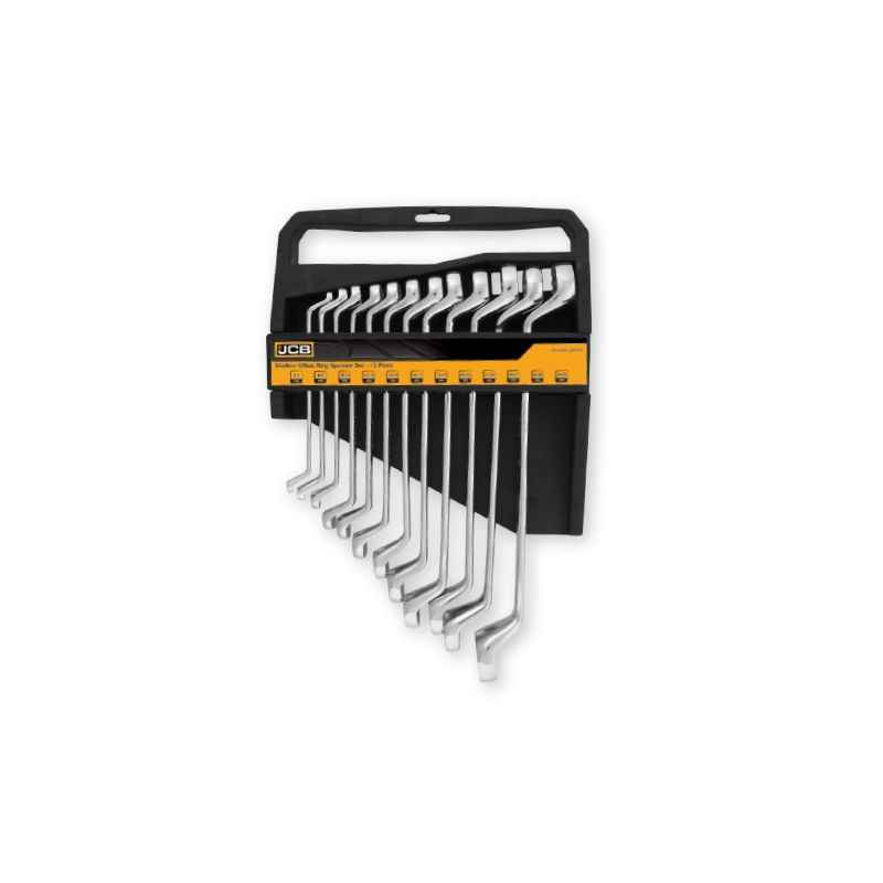 JCB Shallow Offset Ring Spanners Set, 22027538