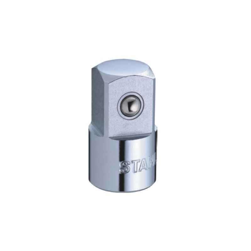 Stanley 1/2 Inch Sq. Dr. Male X 3/8 Inch Sq. Dr. Female Adapter, 1-86-215