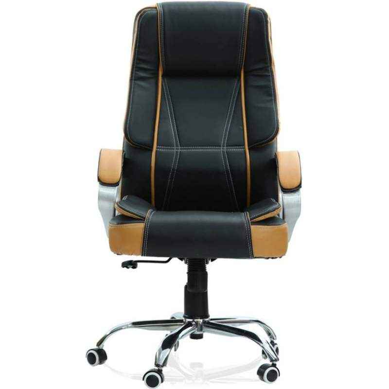 Mezonite High Back Leatherette Black Office Chair For Executives