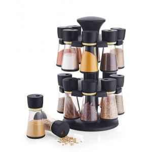 SM 16 Jar Revolving Spice Rack