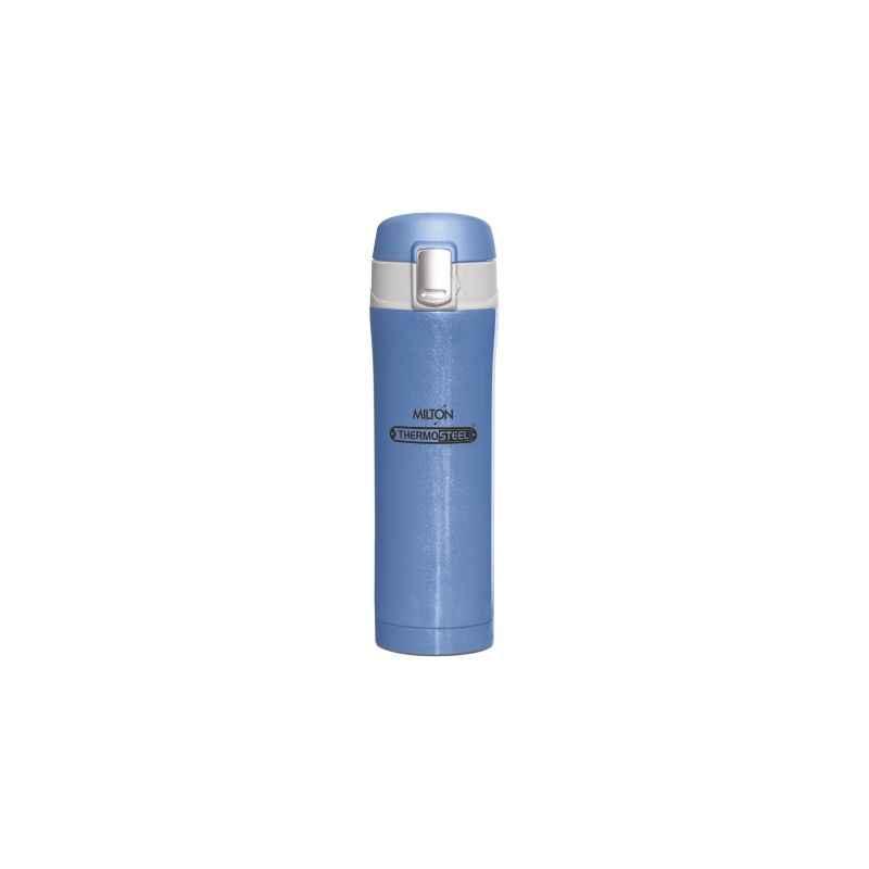 Milton Thermosteel Dazzle 400ml Blue Water Bottle, M1116-MTDB-40