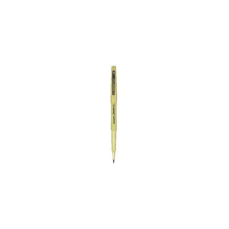 Luxor 0.8mm Tip 946 Graphic 05 Red Ball Pen