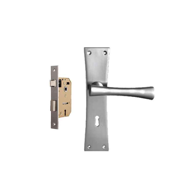 Plaza Scala 65mm Mortice Lock with Stainless Steel Handle & 3 Keys