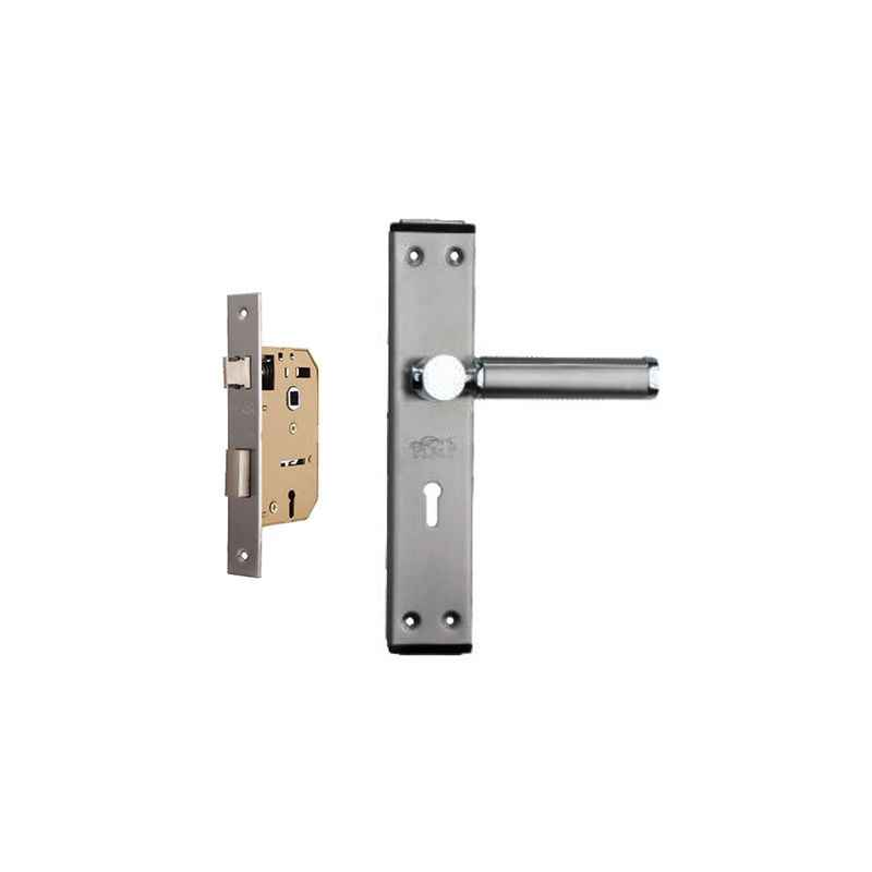Plaza Crystal Stainless Steel Finish Handle with 65mm Mortice Lock & 3 Keys