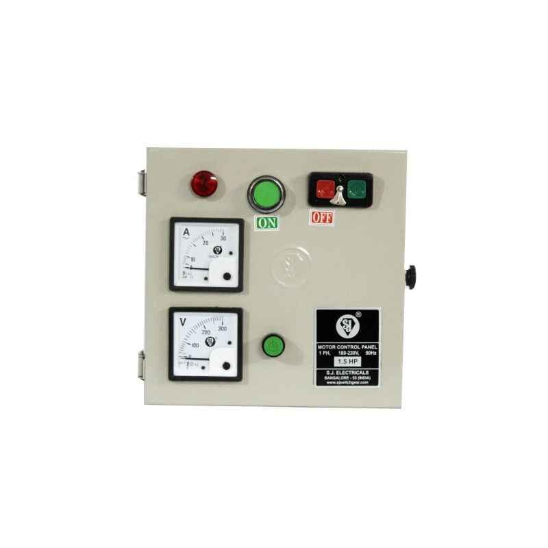 SJ MHD1 9-14A Single Phase Motor Control Panel, P56