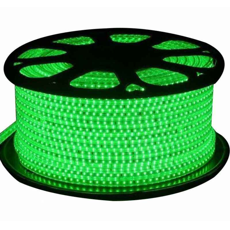 VRCT Classical 20m Green Waterproof SMD Strip Light with Adaptor, Green SMD 20