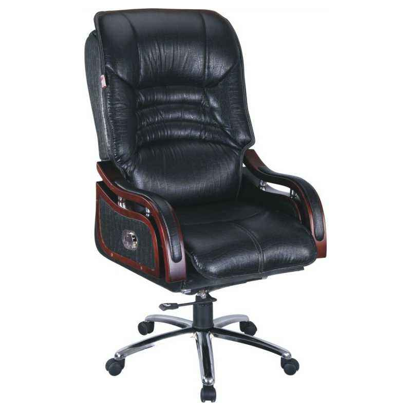 Atharvo 05 Black High Back Recliner Executive Chair