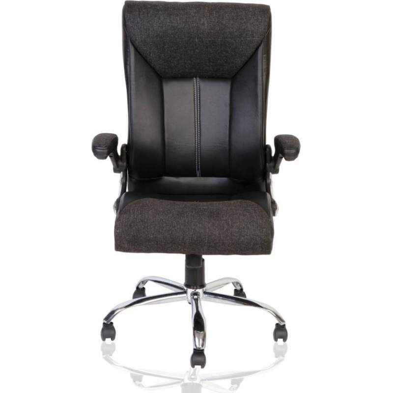 Mezonite High Back Leatherette Black Office Purpose Office Chair