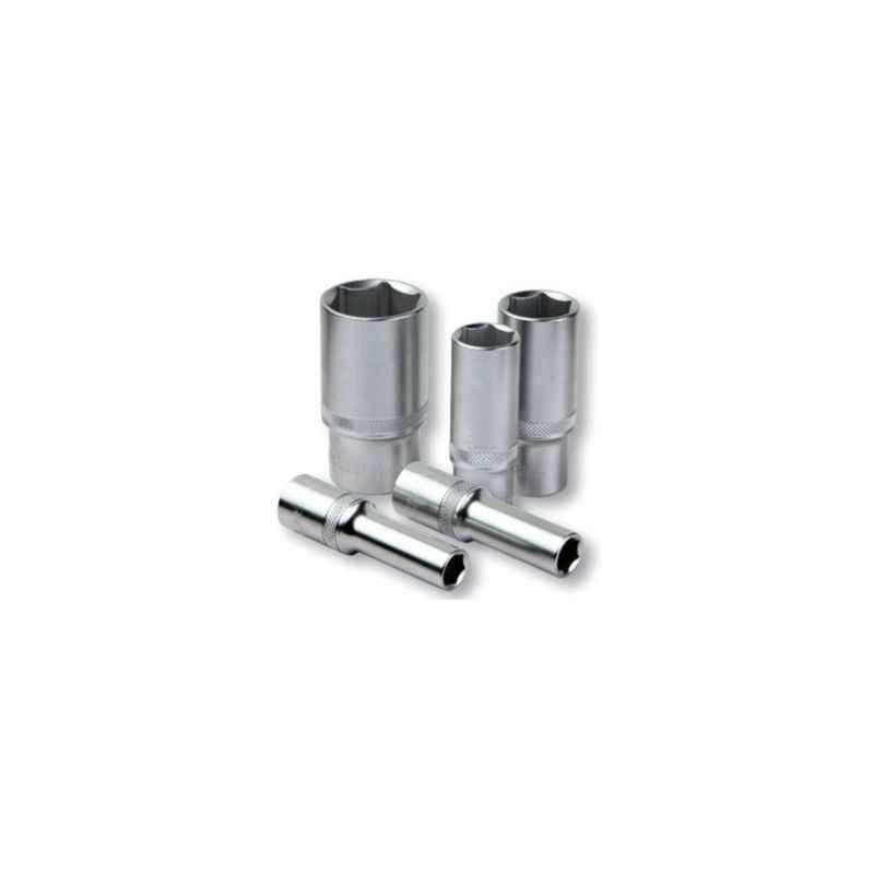 Groz 14mm 1/2 Inch Deep Drive Hex Socket, SKT/H/1-2/14D/UG