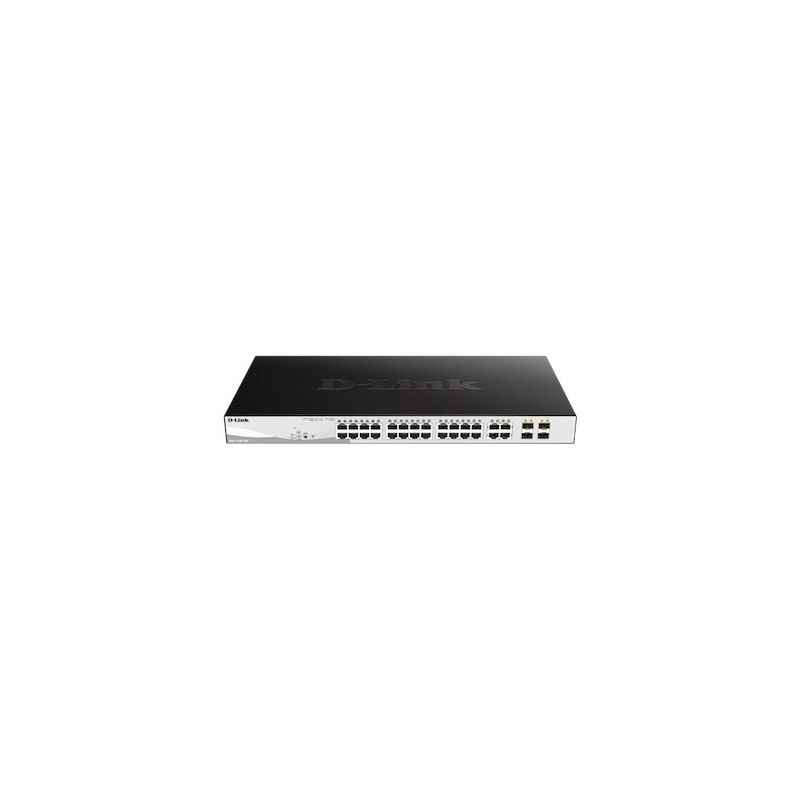 D-Link 1000Mbps 24 Ports PoE Switch, DGS-1210-28P