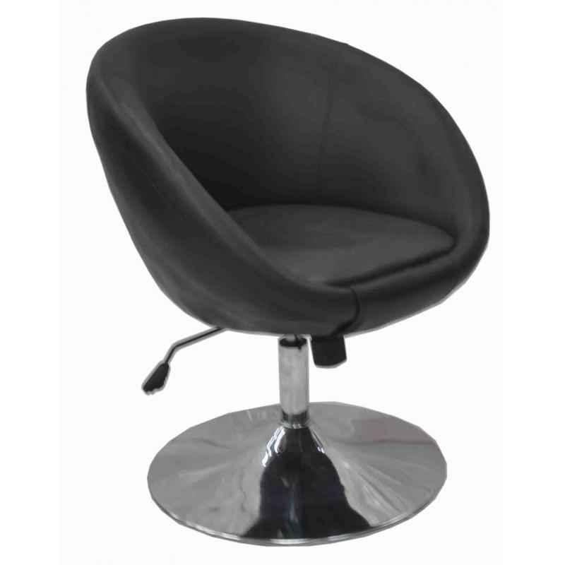 Ventura VF M 60336 Black Designer Chair with MS Chrome Base