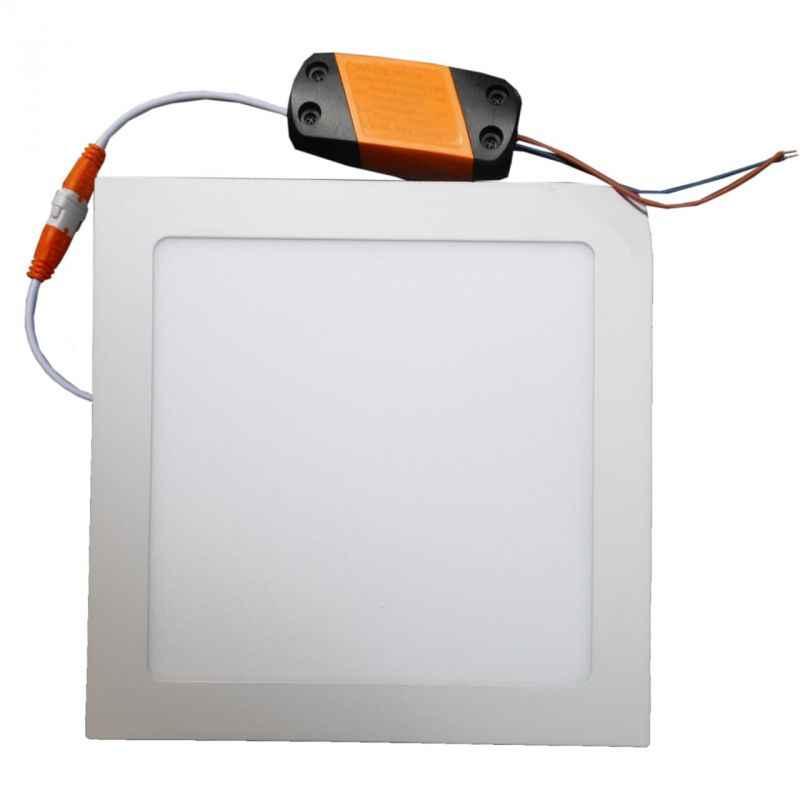 LumoGen 18W Square Cool White Slim LED Panel Light