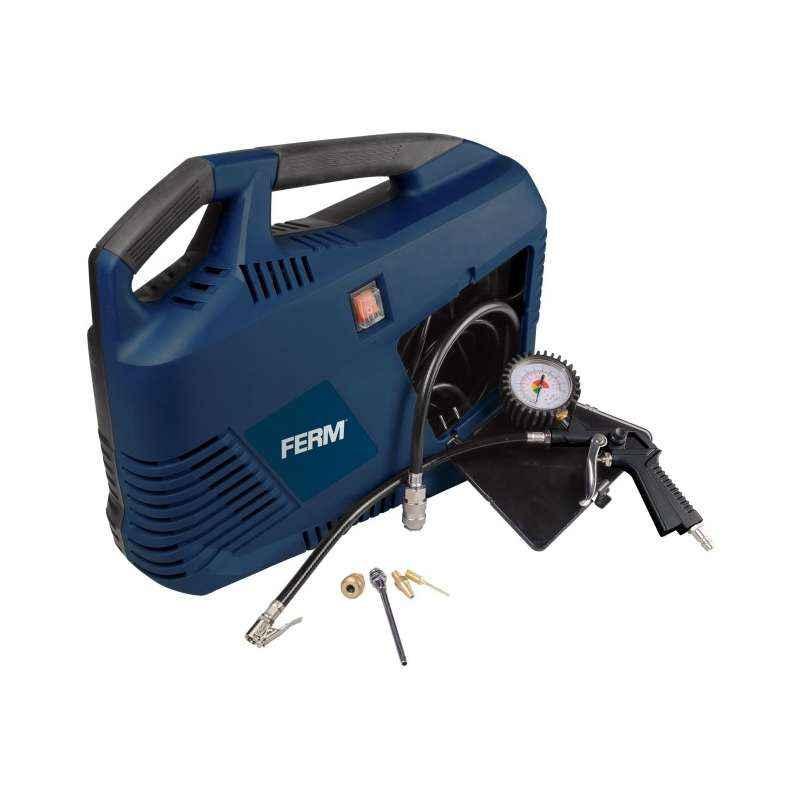 Ferm 8 Bar 1100W Portable Compressor, CRM1049