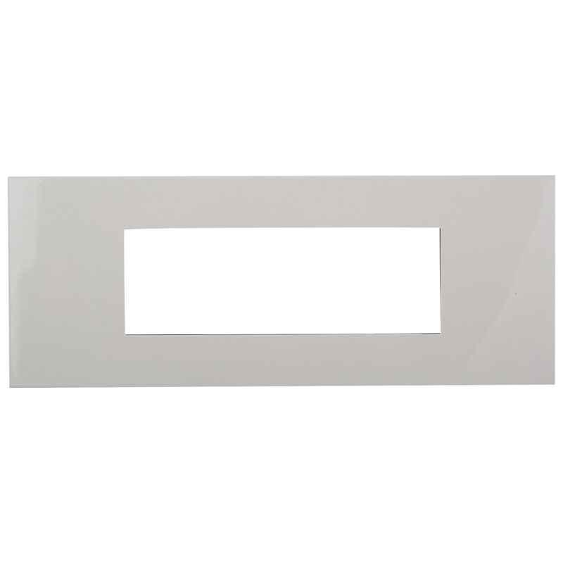 Legrand Arteor White Cover Plates With Frame White Plate-6 Module, 5757 40