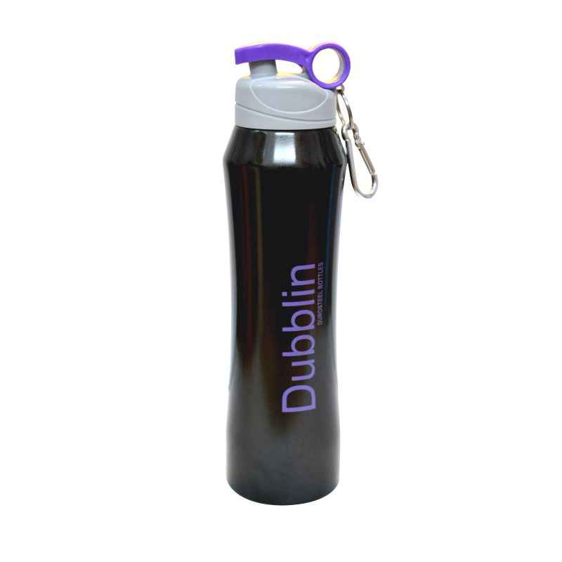 Dublin Trendy 700ml Black Water Bottle
