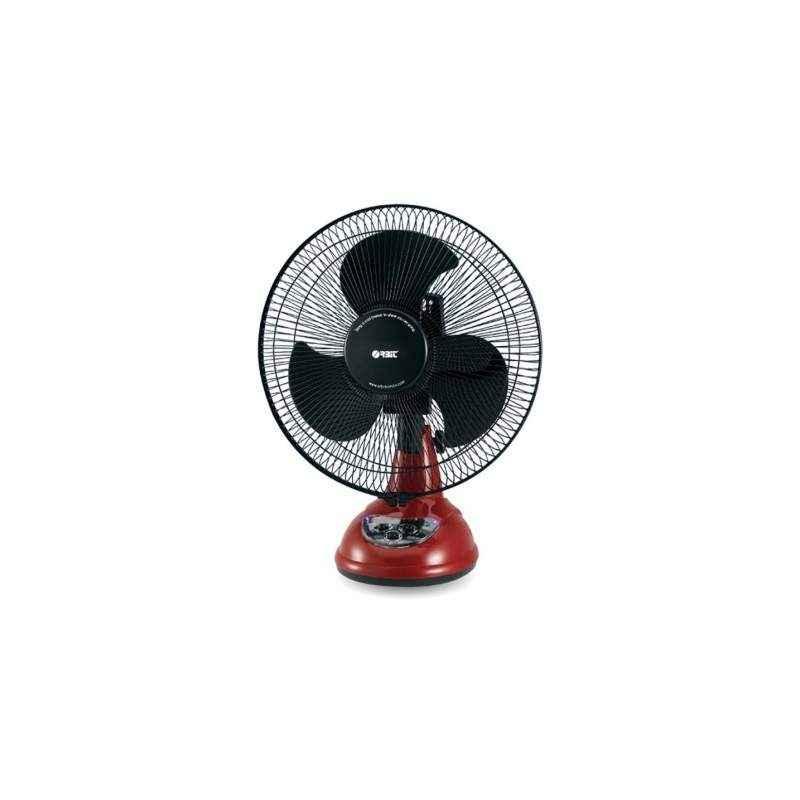 Orbit RF1294 3 Blade Table Fan 750W 2000rpm Colour Black Red