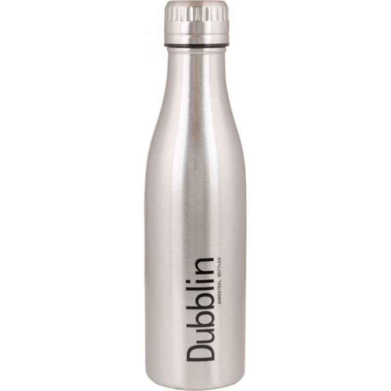 Dublin Vintage 500ml Chrome Water Bottle
