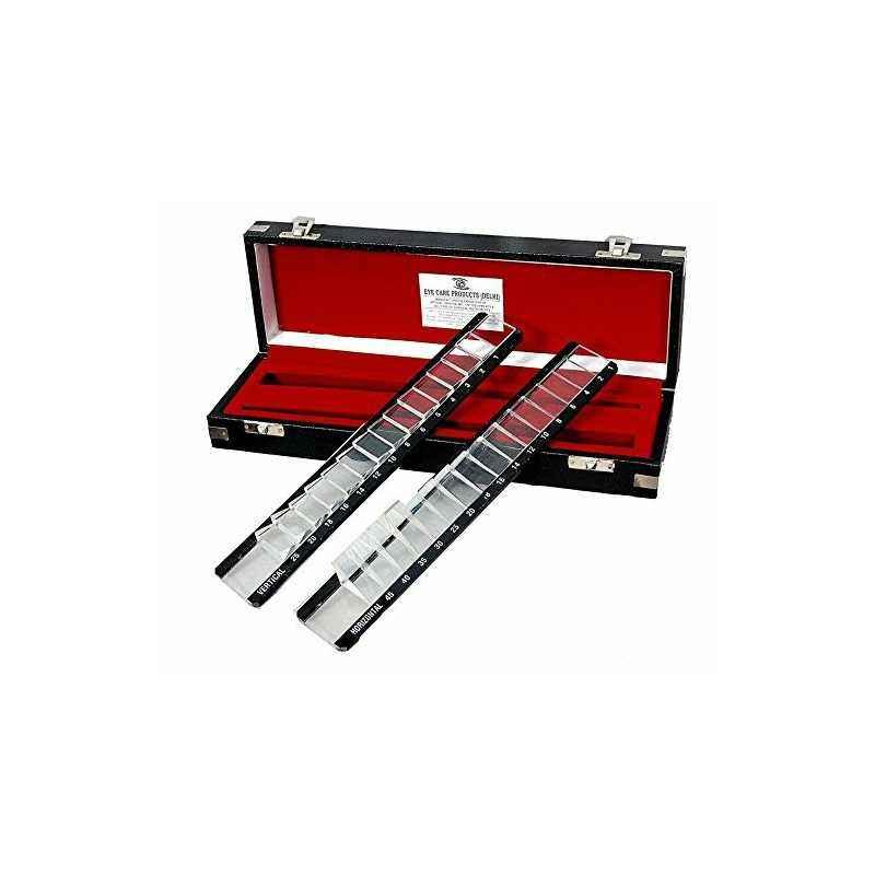 Shakuntla Black Prism Bar Horizontal & Vertical Set In Box