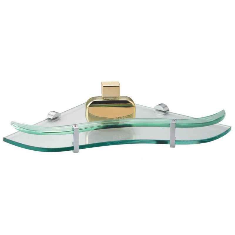 Kamal ACC-1193 12 inch Inspire Glass Shelf Corner