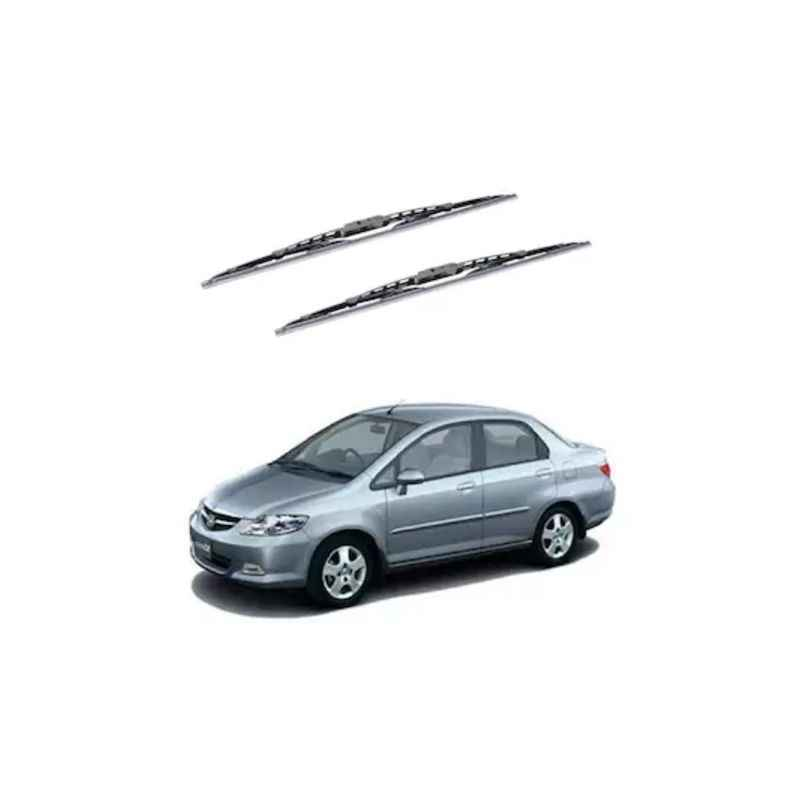 Hella WB-BK-045 Premium Black Wiper Blade Set For Honda City (Type 3)