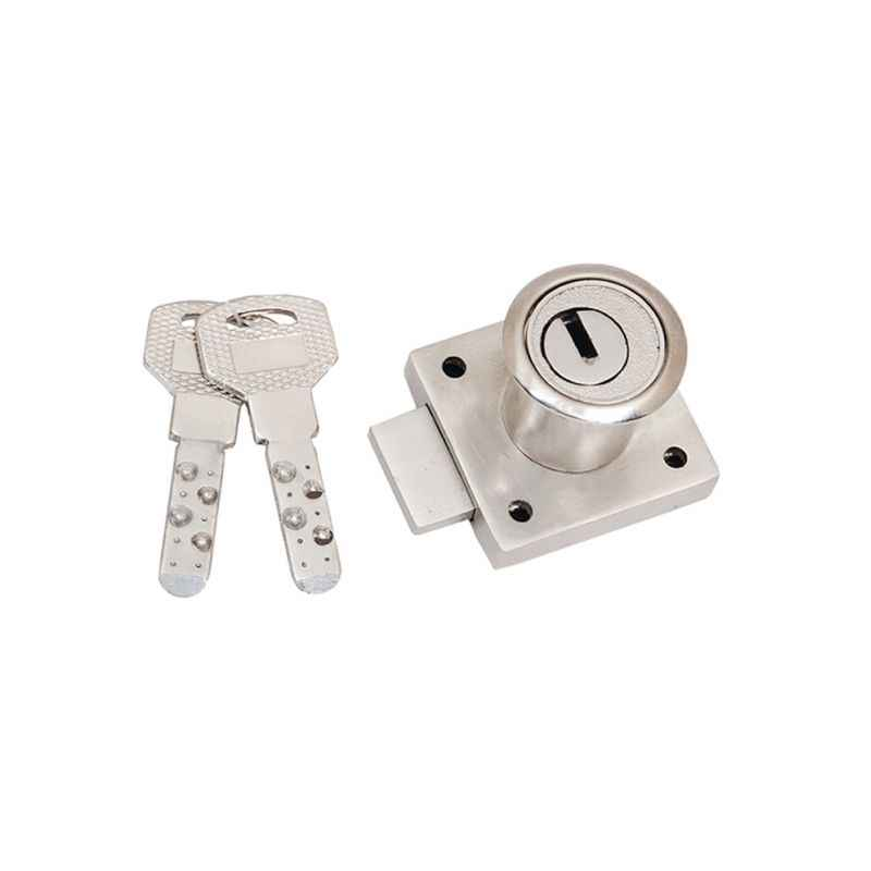 Smart Shophar 30mm Zinc Silver Mulct Multipurpose Lock with 2 Keys, 54213-MPLM-SL30