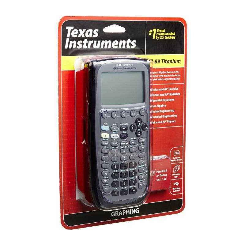 Texas Instruments TI-89 Titanium 12 Digit Graphical Calculator